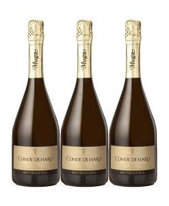 Conde-de-Haro-Brut-2011-3-botellas-doowine