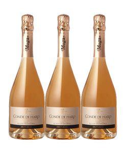 Conde-de-Haro-Brut-Rose-3-botellas-doowine
