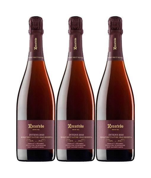 Recaredo-Intens-Rosat-2010-3-botellas-doowine